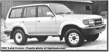 ابحث عن شراء سيارة طويوطا لندكروزر سنة السير من 1990 الى 1998 بسعر معقول .