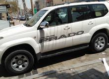 برادو 2007  مكفوله من الضربه والصبغ