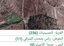 ارض للبيع 2225 م بسعر مغري جدا جرش ساكب