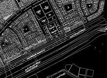 أرض تجارية المروج أول صفة على الشارع العام