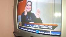 تليفزيون توشيبا 21بوصة حديث فضي بحالة الجديد