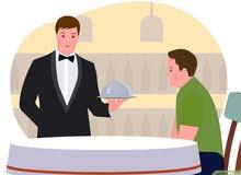 نوفر لك عمال للمطاعم بنقلادبش
