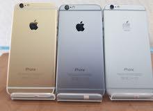 ايفون  6 ذاكره 128 جيبي مع الهداية والضمان بسعر مميز 85 ريال