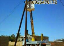 رافعة سلة للأيجار بارتفاع 15متر لكافة الأعمال الكهربائية والتوصيلات والانارة