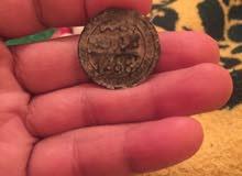 قطعة نقدية قديمة تعود لسنة 1288