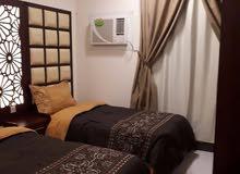 شقة للعوائل مفروشة مميزة بحفر الباطن 2 غرفة وصالةو حمام ومطبخ
