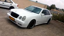 Gasoline Fuel/Power   Mercedes Benz E550 2001