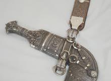 خنجر سعيدية بصوغ جميل ودقيق بصياغة يدوية بأسلاك الفضة الخالصة مقبض سعيدي