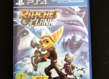 ratchet and clank ps4 cd new only used one time 70dhs
