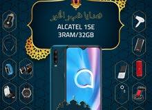 الكاتيل 1SE الذاكرة 32G الرام 2G مع بكج هدية وتغليف حراري مجاناً Alcatel