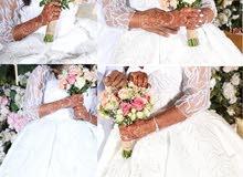 فستان عروس لإيجار
