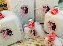 تزين الحقائب للعرائس