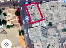 قطعه ارض ذهبيه14لبنه،ركنيه على تقاطع شارع القصر مع شارع سيف بن ذي يزن