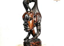 منحوته أفريقيا من خشب الزان وعمل يدوي مصنع في كينيا