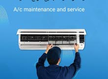 Air conditioning service repair maintenance