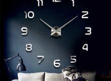 ساعة حائط كبيرة