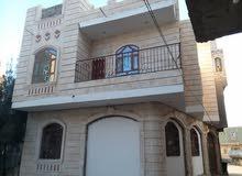 بيت لبنتين طابقين  شارعين شملان السودة