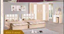 غرف نوم صيني سريرين