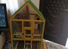 قفص خشبي جديد للبيع