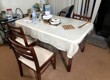Dining Table with 3 matching chairs