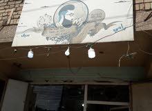 محل حلاقة شباب اليوم مع تجهيزاته اوفارغ