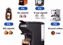 للبيع مكينة قهوه 3 في 1 الكمية محدوده