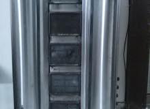 ثلاجةعرض عصيرات مصنع الاهلي استيل متين،خلاط ثوم استيل،مكينة شوارما خمسة عيون فرن