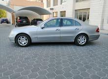 للبيع مرسيدس E240 موديل 2004 وكاله ماشى 268  الف تلفون 98829991