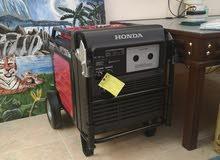 للبيع مكينة كهرباء هوندا كاتم 6.5 لي الفود ترك
