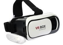 نضاره الواقع الافتراضي 3D عيش المتعه والخيال للالعاب والفيديوهات  + ريموت بلوتوث للتحكم عن بعد