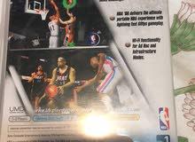 لعبة NBA06 مفتوحة وليست مستعملة واللعبة لجاز ال PSP