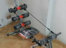جهاز التمارين المتعدد 6×1سيكس باك كور بالتويست و2 صاندو وزن150ك