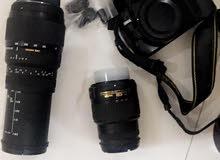 كاميرا نايكون مستعمل