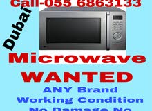 WANTED MICROWAVE ANY BRAND WORKING CONDITION