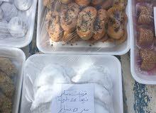 دبلة  وحلويات اخرى مكتوب عليه السعر ودبلة الحافظة ب15دينار