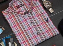 قمصان 100% قطن معالجة حراريا ضد الانكماش