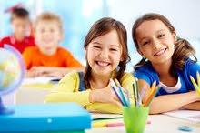 اعطاء دروس خصوصية لطلاب المرحلة الابتدائية