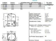 محرك ثلاجة كبيرة او الة ثلج فرنساوي 2.5 حصان