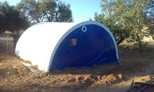 خيمة PVC شبيهة بالغرفة / صالحة للصحراء و الجبل و الشاطئ.