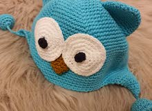 kids owl hat