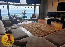 شقة باطلالة بحرية ساحرة للبيع في طرابزون