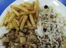 أكلات مغربية والأوروبية.