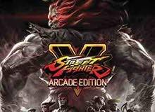 مطلوب لعبة Street Fighter V Arcade Edition ps4