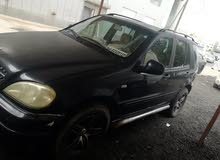 Used condition Mercedes Benz ML 2000 with +200,000 km mileage