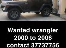 Wanted  wrangler