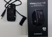 ساعة ذكية رياضية جارمن garmin vivoactive hr