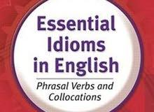 تخصص (انجليزي ) مع (خبرة)  لإكمال (كتاب) عن ال ( Idioms )