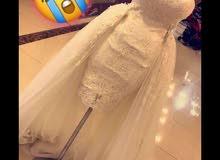 بدلة عروس قصيرة للبيع موديل  2018