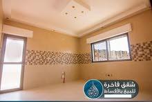 للبيع شقة (شبه أرضي ) +تراس 200 متر و ملحق 150 متر في ام زويتينة / أقساط 36 شهر