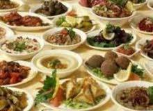 معلم مأكولات شامية (فلافل حمص..)